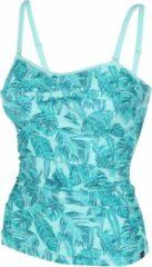 Roze Regatta Tanktop Aceana Ii Dames Polyamide Turquoise Maat 36
