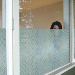1x Lineafix Rissani - Raamfolie statisch (zonder lijm) - 46 x 150cm -Zelfklevend - 99% UV bescherming - Herbruikbaar - Met Reliëf