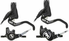 Zwarte Magura MT Trail Sport Disc Brake Set - Remklauwen