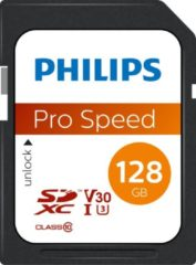 Philips FM12SD65B - SDXC kaart 128GB - Class 10 - UHS-I U3