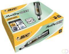 Viltstift Bic 1481 Onyx beitel 2-5mm zwart