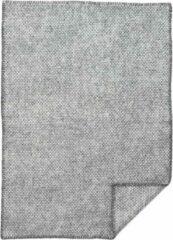 Domino lamswollen wiegdeken grijs- Klippan 65x90cm