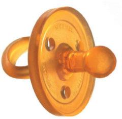 Goudkleurige Goldi Sauger Speen natuurrubber rond - Maat S - 0-3M - Rond - 0-3 Maanden
