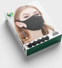 Naturelkleurige SafetyFirst Safety First Wasbaar Gezichtsmasker | Naturel | 5 Pack | Family Voordeelverpakking