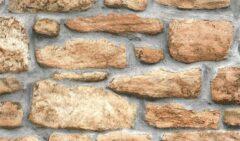 Gekkofix Plakfolie - Kleeffolie - Kleefplastiek - Plakplastiek - 45 cm x 200 cm - Stenen Muur
