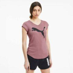 Puma Heather Cat dames sport T-shirt - Roze - Maat L