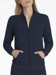 Jacke mit Reissverschluss Calida black sea blue