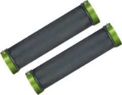 MTB Cycling MTB handvatten 130mm strong GRIP - met lock bevestiging - Groen