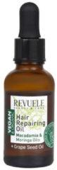 Revuele Vegan & Organic Hair Repairing Oil Macadamia & Moringa Oil 30ml.