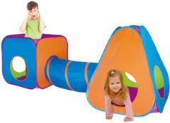 Paarse Didak Play Speeltent met Tunnel - 265x95x100 Cm