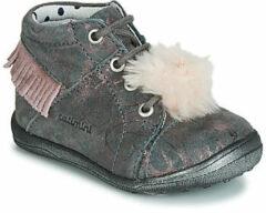 Grijze Hoge Sneakers Catimini PEPITA