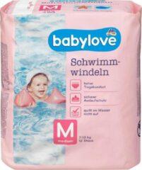 Babylove Baby zwemluiers Maat M (4) , 7-13 kg, 12 stuks