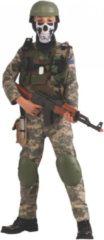 Donkergroene Rubies Rubie's Kinderkostuum Camo Trooper Maat 116