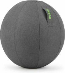 Antraciet-grijze Wobbleez Wobblez Zitbal Antraciet 65cm| Ergonomisch werken aan je bureau zonder last van je onderrug