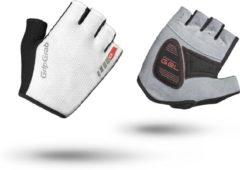 Witte GripGrab Easyrider fietshandschoenen (korte vingers) - Handschoenen met korte vingers