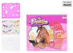 Toi Toys Design je eigen pony schetsboek