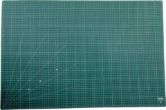 Groene EXXO #10090 - A1 Snijmat - 5-laags zelfhelend - 2-zijdige rasterdruk - 60x90cm