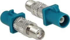 DeLOCK 88932 kabeladapter/verloopstukje FAKRA Z SMA Blauw
