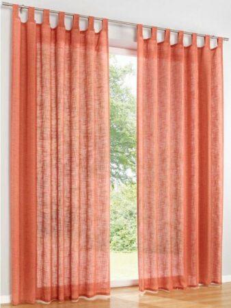 Afbeelding van Oranje Decoratief gordijn