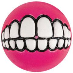Rogz Grinz Treat Ball Small - Hondenspeelgoed - Roze S