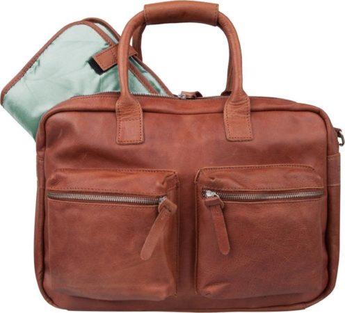 Afbeelding van Bruine Cowboysbag The Diaperbag Luiertas Cognac