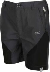 Regatta - Kids' Sorcer Mountain Walking Shorts - Outdoorbroek - Kinderen - Maat 5-6 Jaar - Grijs