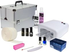 Mbs® Gellak startpakket met aluminium koffer,Starter Kit Set,Gellak Starterspakket