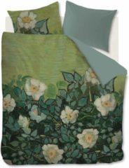 Groene Beddinghouse x Van Gogh museum katoensatijnen dekbedovertrek lits jumeaux