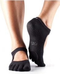 Zwarte Toe Sox Toesox Full Toe Plie - Black