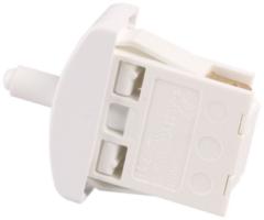 Balay, Bosch, Siemens Tastenschalter 1-fach (Lichtschalter-Reparatursatz) für Kühlschrank 169300, 00169300