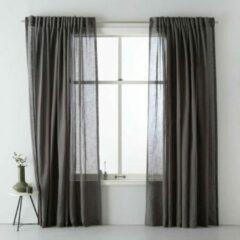 Grijze Wehkamp home transparant gordijn (per stuk) (300x295 cm)