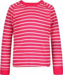 Regatta Longsleeve Beeley Junior Polyester Rood/wit Maat 152-158