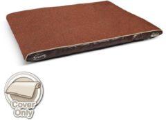 Bruine Scruffs Hilton Memory Foam - Hondenkussen - L - 120 x 75 cm - Chocolade Bruin
