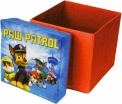 Rode Funhouse furniture Paw Patrol opbergbox / stoel / Poef