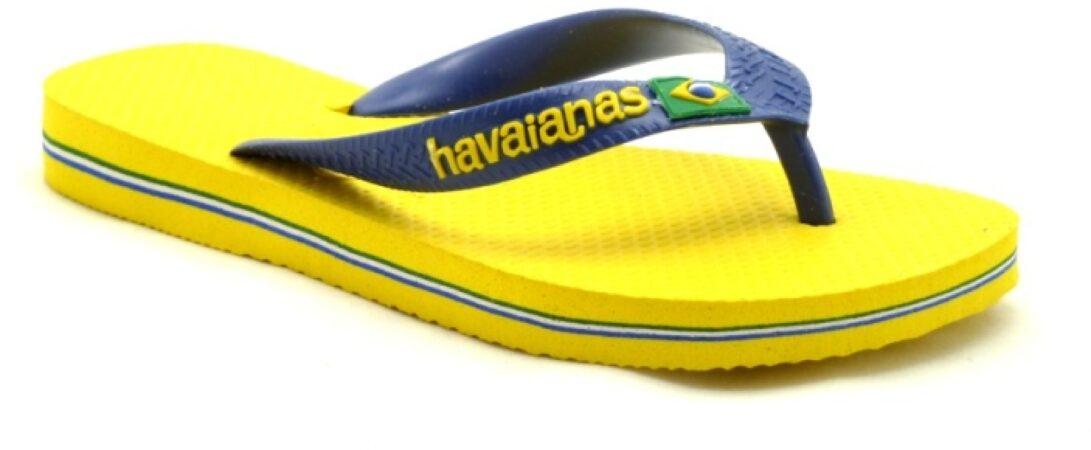 Afbeelding van Blauwe Havaianas Brazil logo heren