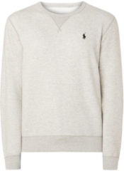 Licht-grijze Ralph Lauren Performance crewneck sweater