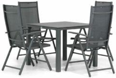 Domani Furniture Domani Sortino/Pallazo 90 cm dining tuinset 5-delig