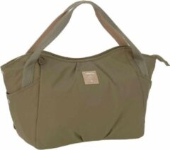 Lässig Luiertas groen Label Twin Bag Triangle Olive