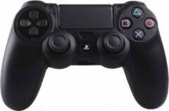 Merkloos / Sans marque Zwarte Silicone Beschermhoes voor PS4 Controller - Cover Skin