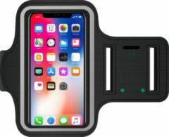 Zwarte Hardloop Armband Telefoon | Geschikt voor iPhone| Hardloop Armband | Hardloop Telefoonhouder Samsung | Hardloop Telefoonhouder | Hardloop Armband