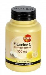 Roter Vitamine C Tablet Citroen - 50 Kauwtabletten - Vitaminen