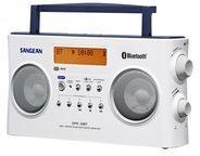 Sangean Electronics Sangean-DPR-26BT - Tragbares DAB-Radio DPR26 DAB+ BT W
