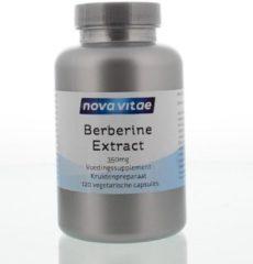 Nova Vitae Berberine HCI extract 350 mg 120 Vegacaps
