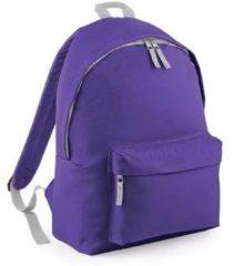Paarse Bagbase Junior rugzak paars 14 liter Rugzak voor kinderen