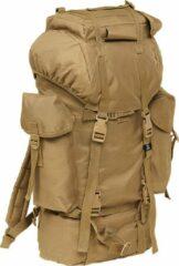 Brandit Nylon Military Backpack camel