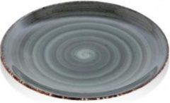 Antraciet-grijze Gural Ent color Set 6 Bord 27cm Antraciet 617339