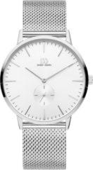 Zilveren Danish Design watches edelstalen herenhorloge Akilia Second Silver Mesh IQ62Q1250