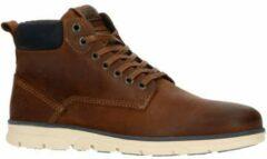 Bruine JACK & JONES Tubar Heren Sneakers - Brandy Brown - Maat 44