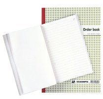 Exacompta Zelkopiërend orderboek Wit Gelinieerd A4 210 x 297 mm 50 Vel