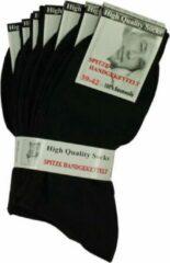 Merkloos / Sans marque 63 paar Zwarte Katoenen Sokken Voor - DAMES - HEREN - MAAT 39-42